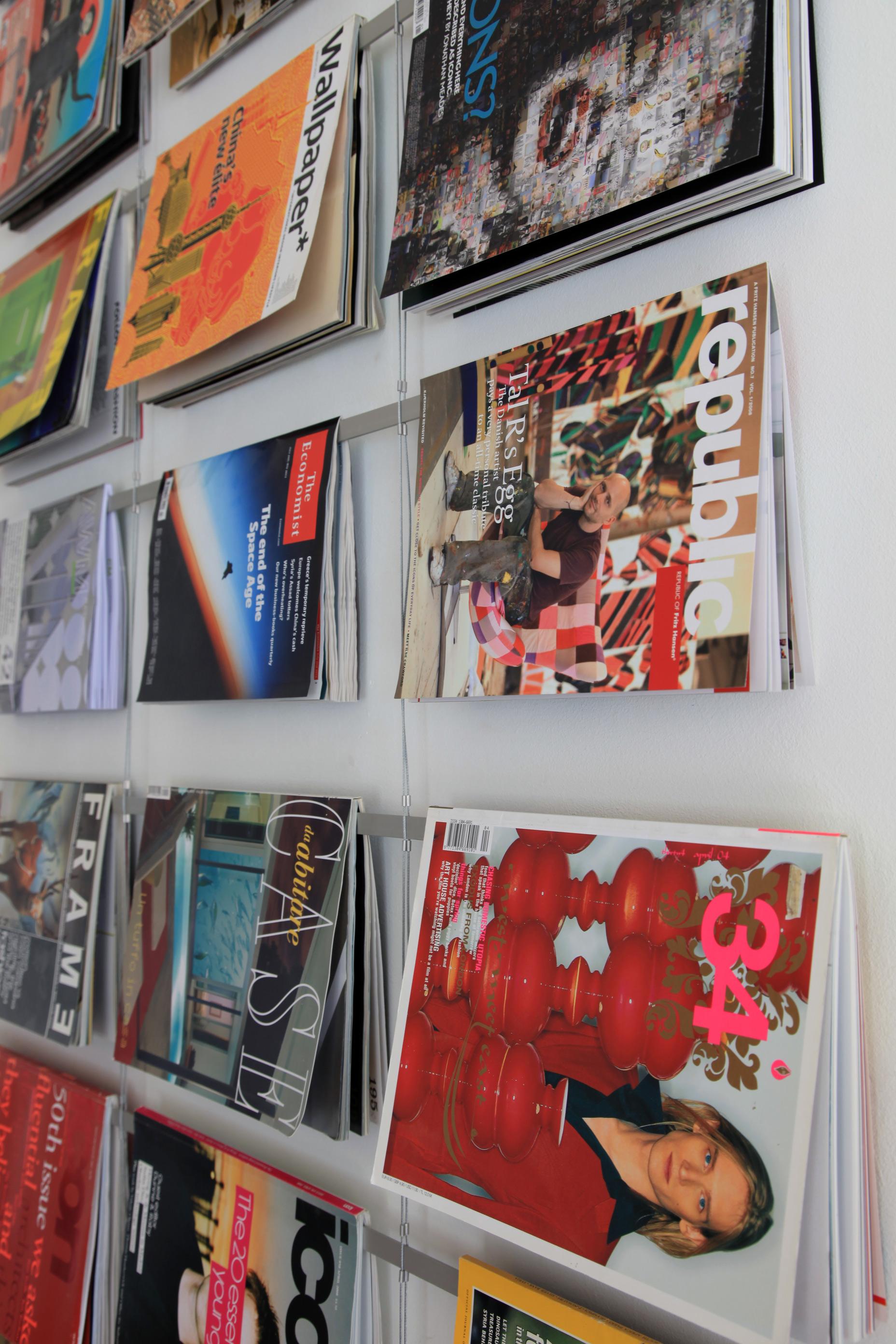 Magazine Cover Room Divider New Citizen Design